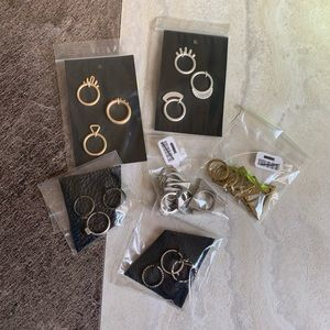 NEW free people ring lot